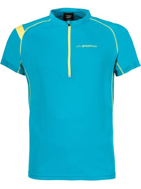 La Sportiva Advance - T-shirt course à pied Homme - bleu